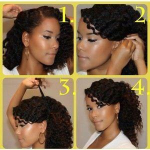 Easy Diy Hairstyles Natural Hair Tutorials Natural Hair Styles