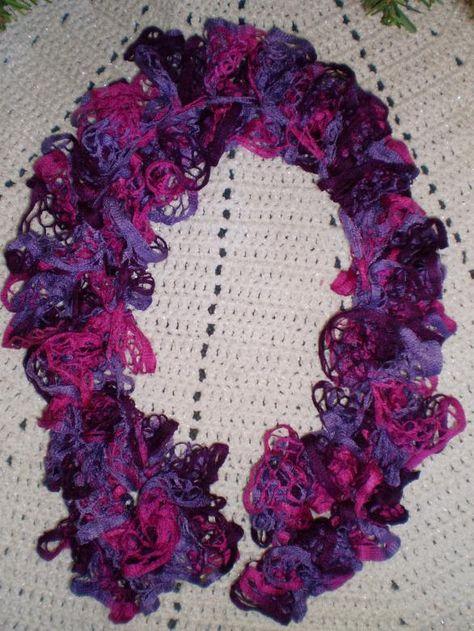 free pattern for crochet ruffle scarf | Starbella Ruffle Scarf ...
