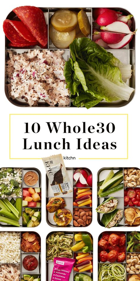Eating Meals Easy Lunch Ideas to Pack for Work. Need recipes and ideas for packing wholesome and healthy whole 30 lunches and meals to take to the office? The easy prep for these clean eating meals on the go make them simple wins. Whole Foods, Whole 30 Snacks, Whole 30 Lunch, Whole 30 Diet, Whole Food Diet, Clean Eating Recipes, Clean Eating Snacks, Healthy Dinner Recipes, Whole Food Recipes