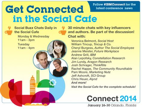 Social Buzz Chats #IBMConnect