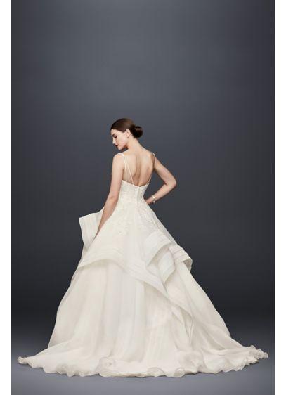 Truly Zac Posen Horsehair Tier Skirt Wedding Dress Zp341835 Ball