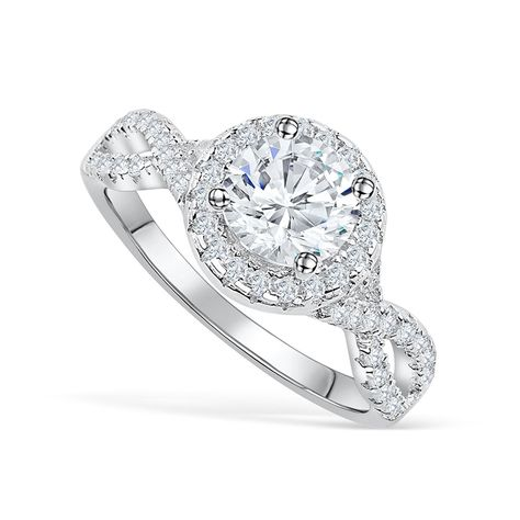 She's Beauty and She's Grace She's our newest standalone ring! The Grace is everything you want in an engagement ring: radiance, intricate design, and a 24/7 sparkle! Put this charming 1.5 carat round halo engagement ring on your finger and watch heads turn left and right! Complete with a delicate, twisted band, the Grace is the epitome of an undeniable WOW factor. While gorgeous as a standalone, it's a gorgeous wedding band when paired with our Forever band. All rings are nickel free, come with