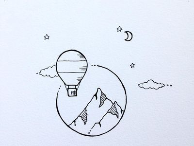 Desenho Simples E Romântico Ideias Para Caderno De