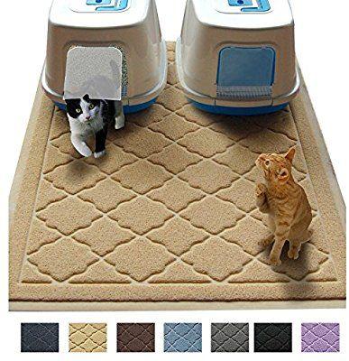 Amazon Com Jumbo Litter Mat 47 X 36 Cat Litter Mat Traps