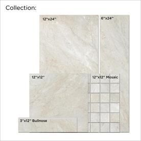 Style Selections Classico Taupe 12 In X 24 In Glazed Porcelain Floor Tile Lowes Com Porcelain Flooring Porcelain Floor Tiles Marble Look Tile