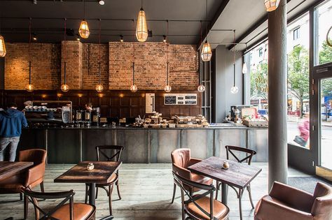 Project 200 Degrees Coffee House Birmingham Cafe Ausstattung