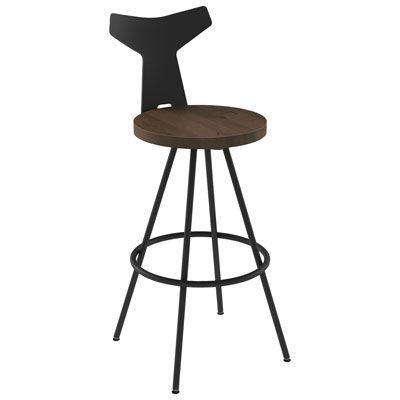 Strange Ulrik Modern Bar Height Barstool Dark Brown Wood In 2019 Inzonedesignstudio Interior Chair Design Inzonedesignstudiocom