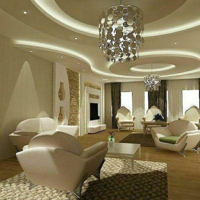 Pop false ceiling with led lighting ideas for living room also rh pinterest