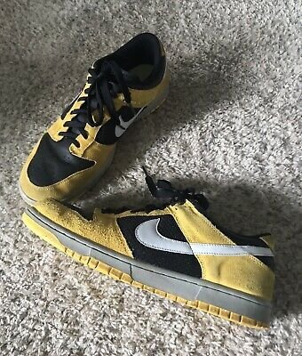 white black yellow nike dunks 2008
