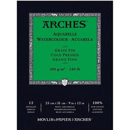 Arts Crafts Sewing Arches Watercolor Paper Best Watercolor