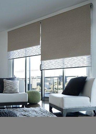 9 Modern Window Roller Blinds Shade Design Ideas Decorated Life Living Room Blinds Blinds For Windows Living Rooms Window Roller Blinds