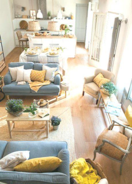 Comment Amenager Son Salon Farmhouse Decor Living Room Interior