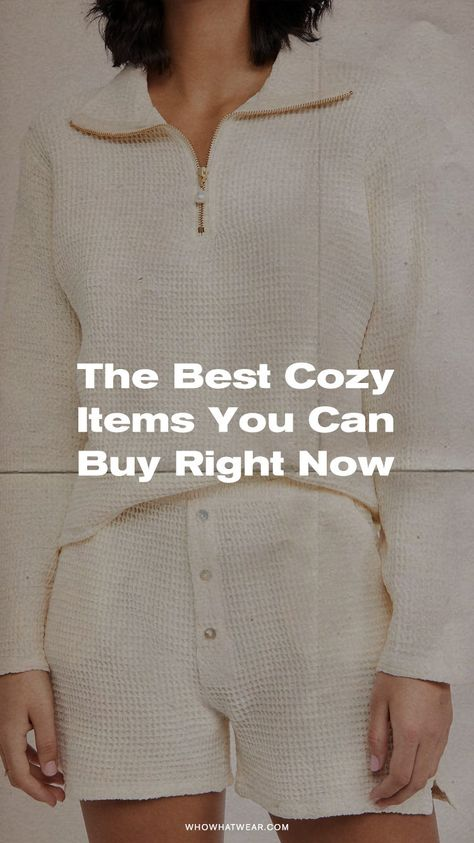 The coziest fashion items you can buy right now.