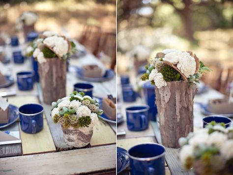 campground wedding styled by Jesi Haack design | Photos by Gabriel Ryan Photographers