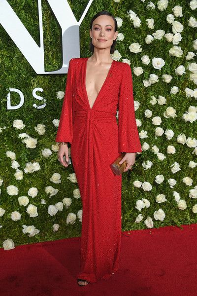 Olivia Wilde attends the 2017 Tony Awards at Radio City Music Hall.