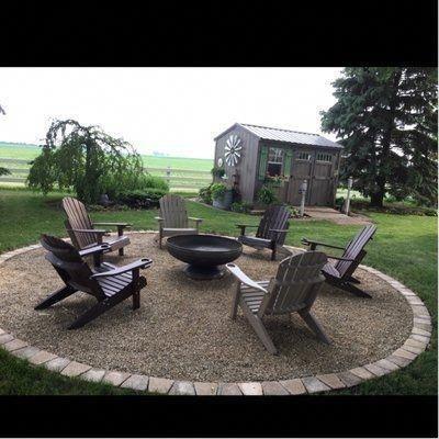 51 Minimalistische Mobel Fur Ihren Aussenbereich Fire Pit Backyard Backyard Patio Backyard Fire