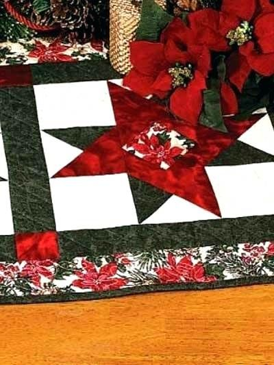 Quilted Christmas Table Runner Patterns Free Easy.Christmas Table Runner Patterns Stars Free Easy Crochet