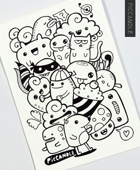 40 Simple And Easy Doodle Art Ideas To
