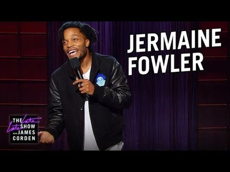 Jermaine Fowler Stand Up Comedians Stand Up The Late Late Show