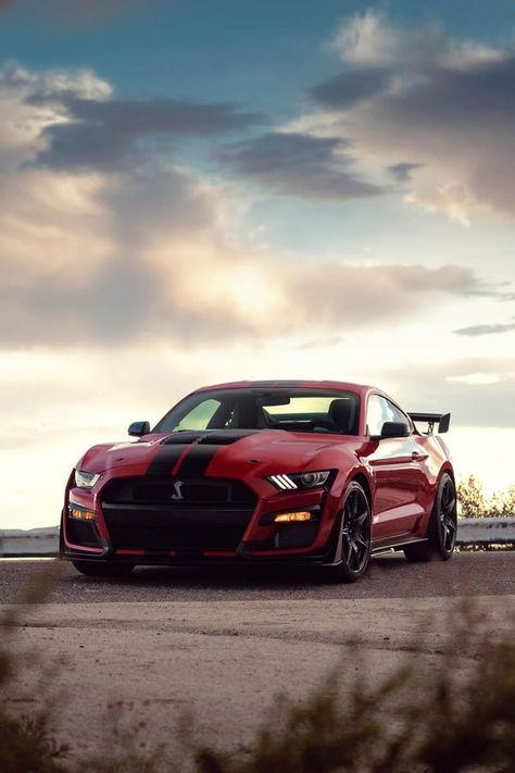 Unveiled at the 2019 Detroit Auto Show, the new, 2020 Ford Mustang Shelby Is the most powerful street-legal Ford vehicle ever made! Ford Mustang Shelby Gt500, Mustang Cobra, Ford Gt500, Ford Shelby, Dream Cars, Auto Poster, Ford Mustang Wallpaper, Hot Cars, Shelby Gt 500