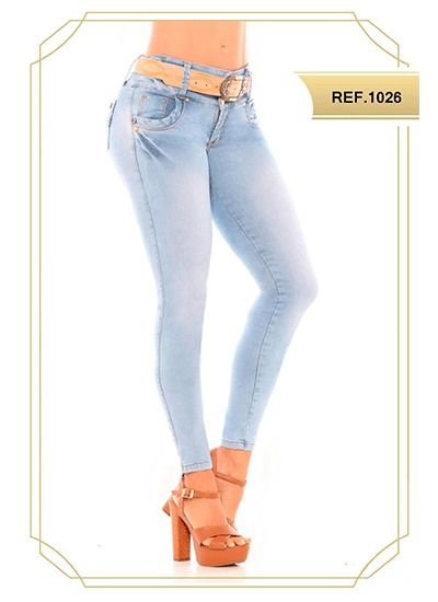 32a1a809ebb1 Pantalones colombianos Joss Star, ✅ venta de Jeans levanta cola a ...