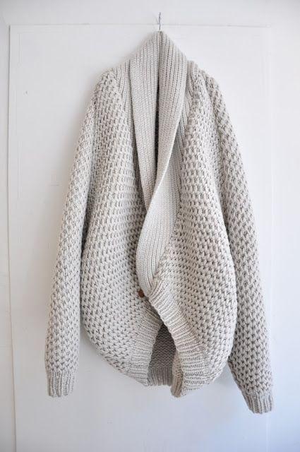 Mango Sweater Cardigan Size L Creamy Viscose