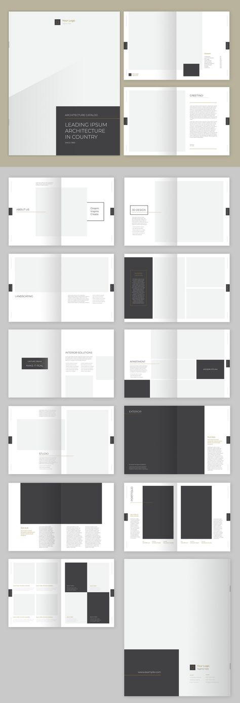 Five Must-Have Brochure Templates for Adobe InDesign