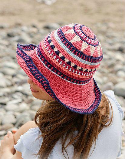 Bazar Hat Free Crochet Pattern Crochet Hats Childrens Crochet Hats Crochet Summer Hats