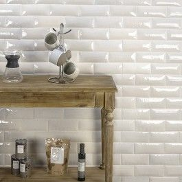 Maverick Blanco 3x8 Textured Mix Pillowed Ceramic Tile Ceramic