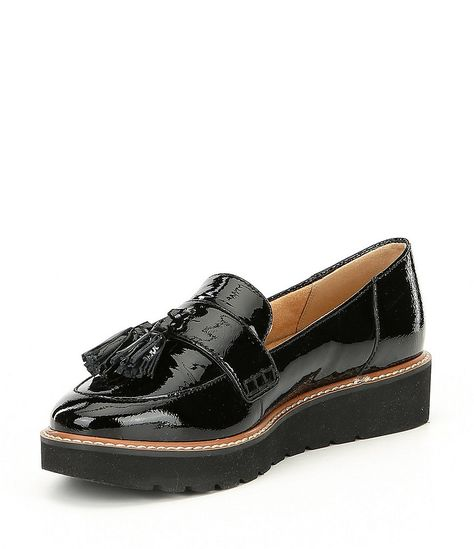 423aae18fc9e Naturalizer August Patent Leather Tassel Detail Slip-Ons in 2019 ...