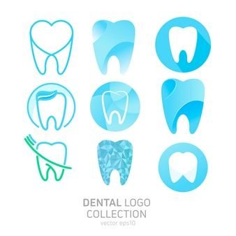 Download Set Of Dental Clinic Logo For Free Dental Clinic Logo Clinic Logo Dental Logo
