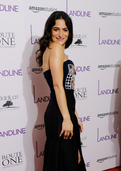 Actress Jenny Slate attends the 'Landline' New York Premiere.