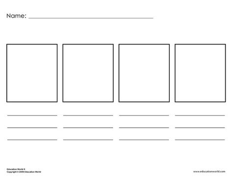 Template For Elementary Level Students And Timelines Flow Chart