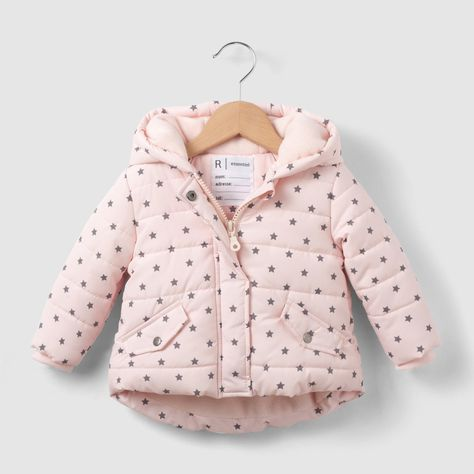 La Redoute Collections Big Girls Coat with Faux Fur Lining 3 Months-3 Years