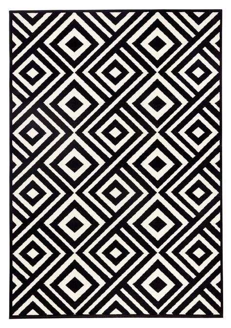 Zala Living Design Teppich Capri Schwarz Creme Mit Bildern