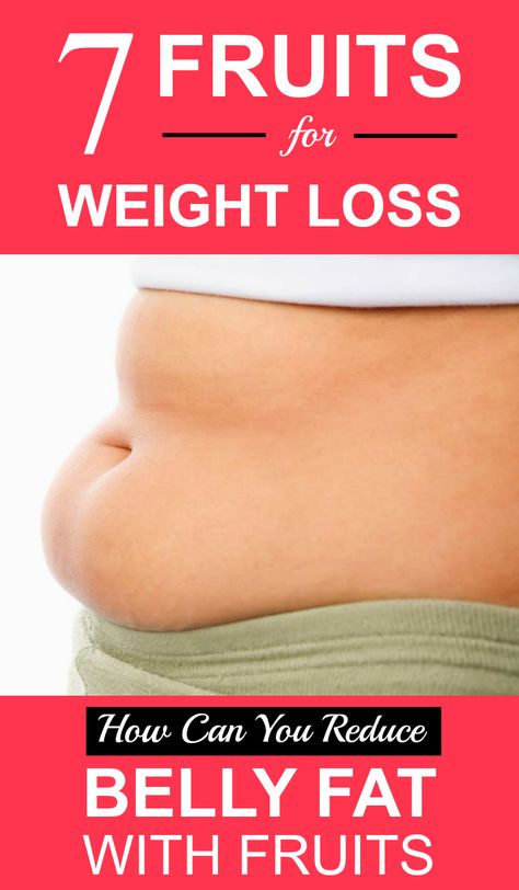 7 Fruits For Weight Loss – How Can You Reduce Belly Fat With Fruits?