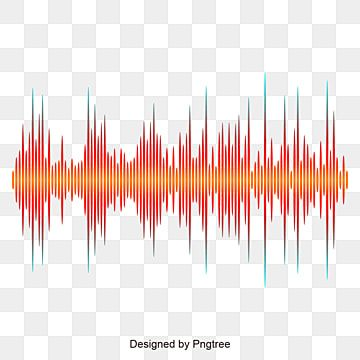 Orange Sound Wave Design Sound Wave Design Sound Wave Wave Png And Vector With Transparent Background For Free Download Sound Waves Design Calendar Design Template Logo Design Free Templates