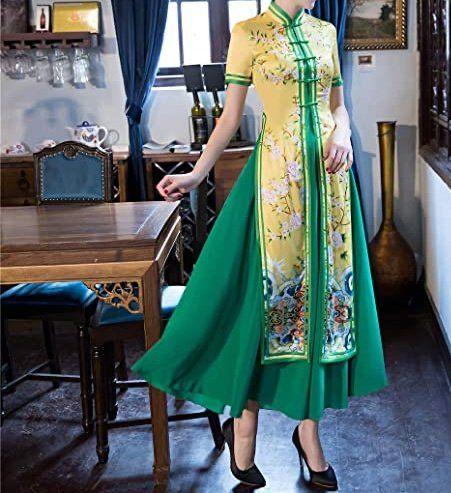 style おしゃれまとめの人気アイデア pinterest reki アオザイ ドレスコレクション 半袖ドレス