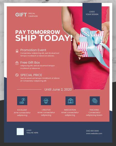 Product Promotion Flyer / Poster Design InDesign INDD