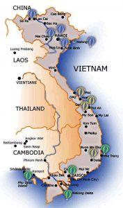 Guerra De Vietnam Mapa.Guia De Vietnam Mapa Viajes Vietnamitas Vietnam Mapa Y