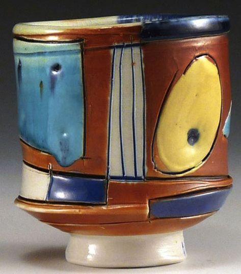 Africa   Jar from the Shona people of Zimbabwe   Ceramic, slip, resin   Mid 20th century