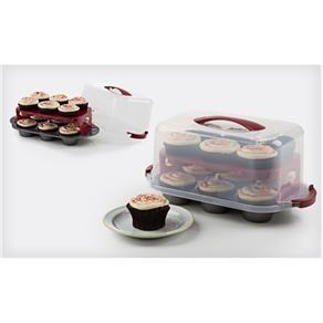 Forma Para Cupcake Bake And Take Forma De Cupcake Assadeiras E