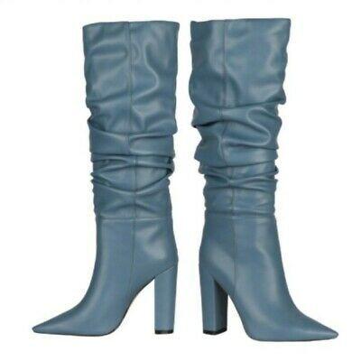 Block heel shoes