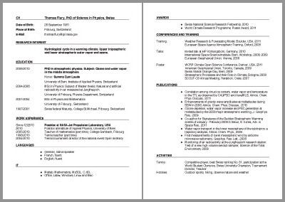 Cv Template Examples Cvtemplate Examples Template Cv Template Cv Template Download Academic Cv