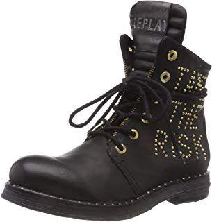 Replay Damen Stake Biker Boots #damen #frau #schuhe oA52l