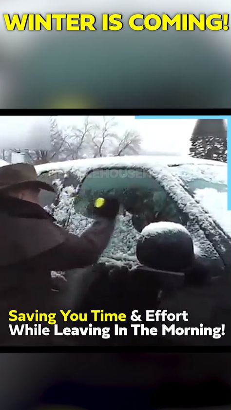❄️Winter Is Coming, Save Time Scraping!😮