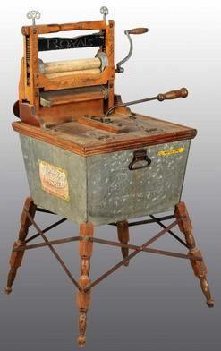 Antique Wringer Washer   Washing Machine; American Wringer, The Wonder Washer, Tub & Wringer ...