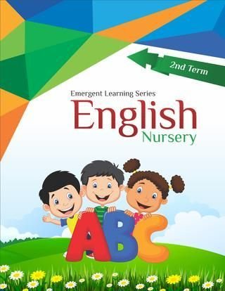 Nursery English 2nd Term Pdf With Images English Books For