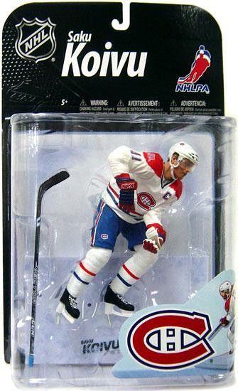 McFarlane Toys NHL SPORTS PICKS SERIES 4 SAKU KOIVU Action Figure