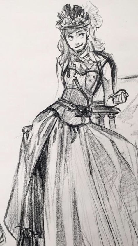 Today's costume drawing